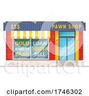 Poster, Art Print Of Pawn Shop Business Facade