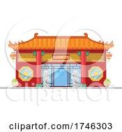Poster, Art Print Of Chinese Restaurant Business Facade