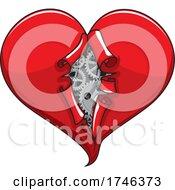 Heart Peeling Open And Revealing Gears