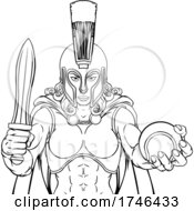Spartan Trojan Gladiator Tennis Warrior Woman