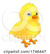 Poster, Art Print Of Easter Chick Chicken Cartoon Character Mascot