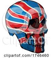 Great Britain Flag Skull