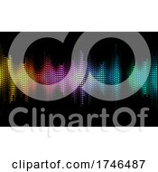 06/15/2021 - Website Landing Page Or Background Of Sound Waves