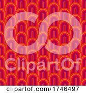 06/16/2021 - Abstract Background With Retro Styled Pattern Design