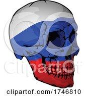 Russian Flag Skull