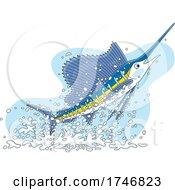 Jumping Swordfish