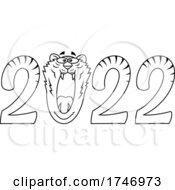 Black And White Year 2022 Tiger Numbers