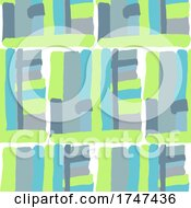 Abstract Hand Painted Pattern Background