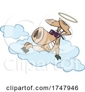 Cartoon Hog In Heaven