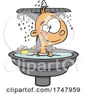 Cartoon Fountain Of Youth Baby