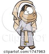 Cartoon Bible Girl