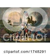 Raising The Flag May 1861