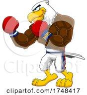 Bald Eagle Mascot Boxer