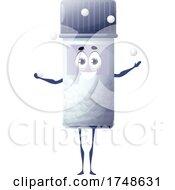 Pill Bottle Mascot Juggling
