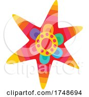Poster, Art Print Of Mexican Themed Star
