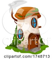 Poster, Art Print Of Fairy House