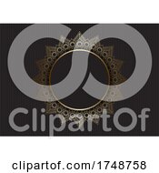 Abstract Luxury Mandala Background