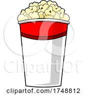 Cartoon Popcorn Bucket