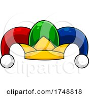 Cartoon Jester Fool Hat