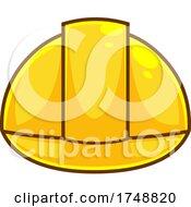 Poster, Art Print Of Cartoon Construction Helmet