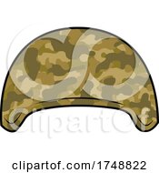 Poster, Art Print Of Cartoon Military Helmet