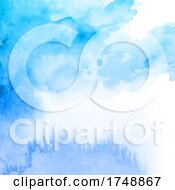 Poster, Art Print Of Detailed Watercolour Texture Background