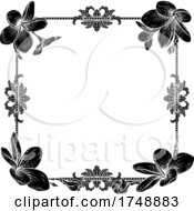 Plumeria Frangipani Tropical Flower Funeral Invite