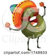Poster, Art Print Of Mexican Avocado Mascot