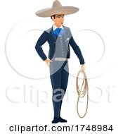 Poster, Art Print Of Mexican Man