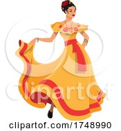 Poster, Art Print Of Mexican Woman
