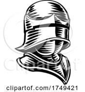 Poster, Art Print Of Knight Helmet