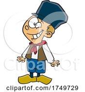 Cartoon Dutch Boy