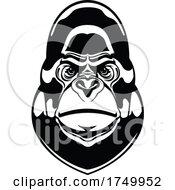Black And White Gorilla Mascot