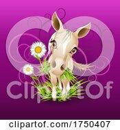 08/20/2021 - Little Mare In Grass Over Purple