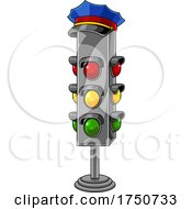 Traffic Light And Hat