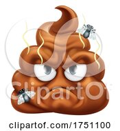 Angry Mad Dislike Hating Poop Poo Emoticon Emoji