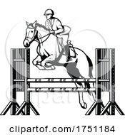 Poster, Art Print Of Equestrian