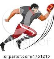 Running Football Player