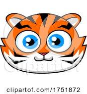 Tiger Mascot Face