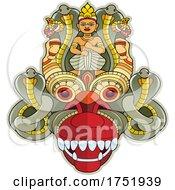 Sri Lanka Devil Mask