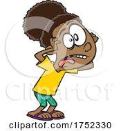 Cartoon Girl Ranting