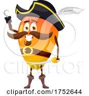 Mango Pirate Mascot