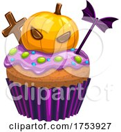 Halloween Cupcake by Vector Tradition SM