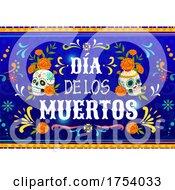 Poster, Art Print Of Dia De Los Muertos