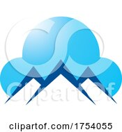 Poster, Art Print Of Mountain And Cloud Logo