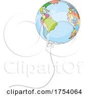 Geography Balloon by Alex Bannykh