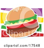 Hamburger Graphic
