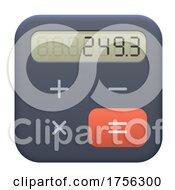 3d Calculator Icon