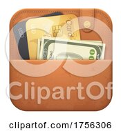 3d Wallet Icon