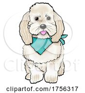 Cute Dog by Maria Bell #COLLC1756317-0034